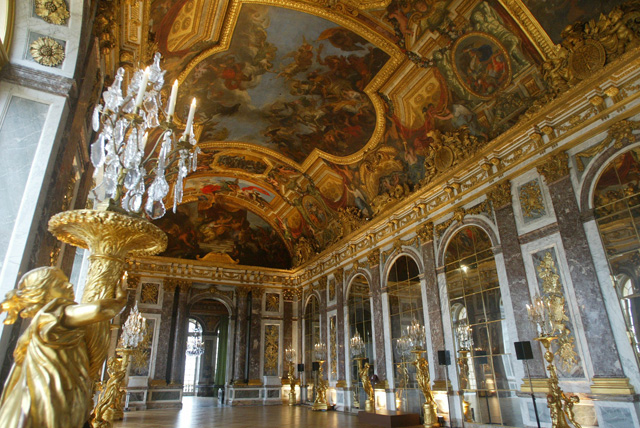 Versailles Château: Galerie des glaces