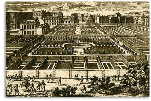 Château de Versailles :  le potager du roi