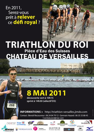 Versailles Grand Parc : Triathlon du Roi le 8 mai 2011