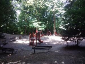 Versailles Parc: parc Semallé aire de jeux