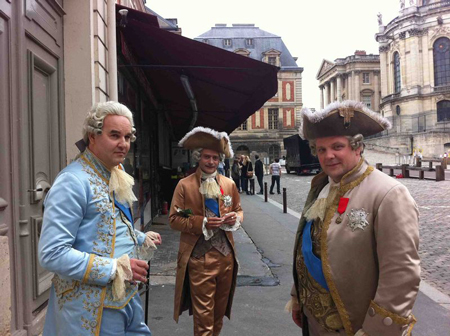 Versailles News : On tourne à Versailles