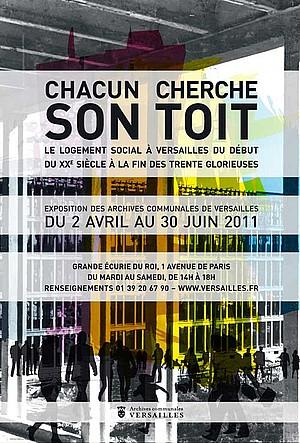 Versailles expo: «chacun cherche son toit»