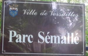 Versailles parc Semallé