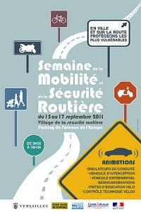 Versailles NEWS 09/2011: Semaine de la mobilité et de la sécurité routière