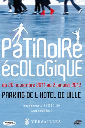 Versailles News  : Patinoire écologique éco glisse 2012