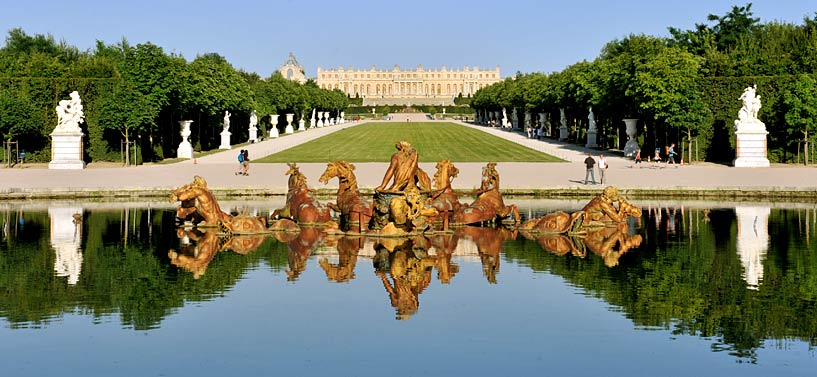 Chateau de Versailles grandes eaux [video]