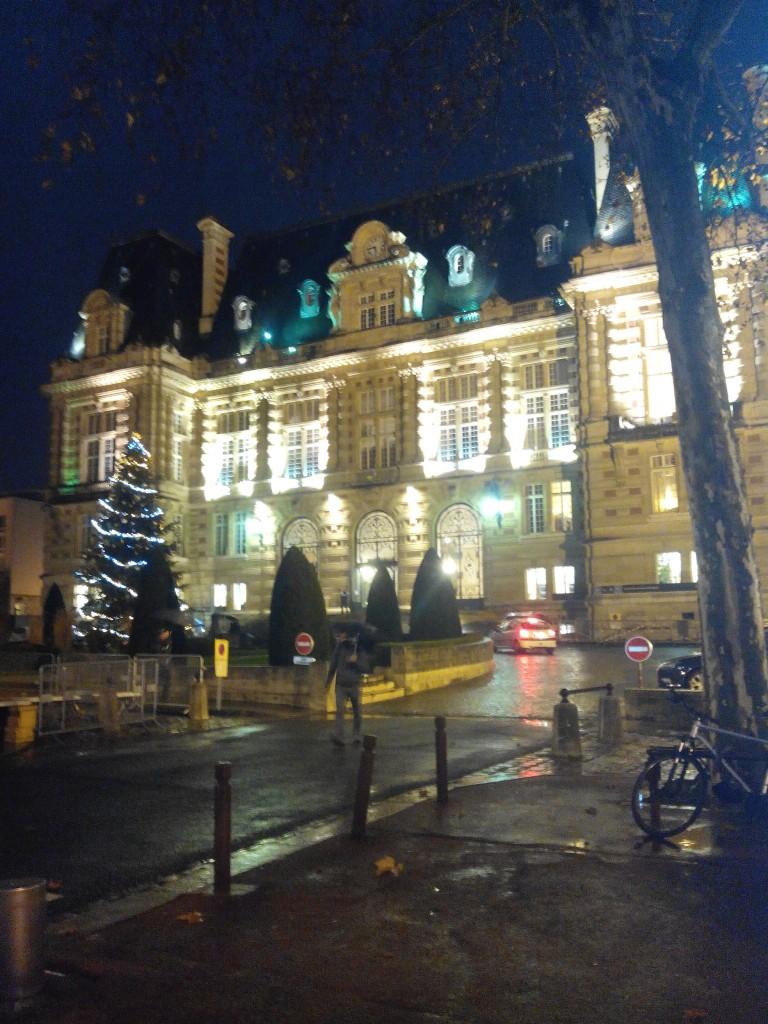 Patinoire à Versailles  du 12 décembre 2015 au 3 janvier 2016